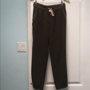 Wilfred Khaki colored jogging pants sz 4